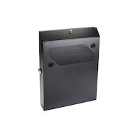 "Low-Profile Vertical Wallmount Cabinet - 2U, 36""D Equipment"