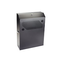 Low-Profile Vertical Wallmount Cabinet - 4U, 24