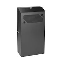 Low-Profile Vertical Wallmount Cabinet - 6U, 36