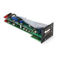 Pro Switching Gang Switch - 2U, RS-232/DB25, A/B Card, Latching