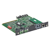 Pro Switching Gang switch 4U Controller Card, Ethernet (SNMP)/RS232