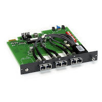 Pro Switching Gang Switch - 4U, Multimode Fiber ST A/B Card Latching