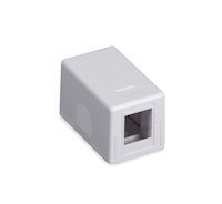 Connect Surface Mount Housing - 1-Port, White