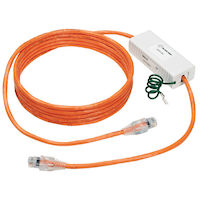 CAT6 Ethernet Surge-Protected Patch Cord - 1000BASE-T, Orange, 10-ft.