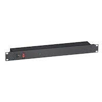 400V Rackmount Surge Suppressor, Switchable, On/Off Switch