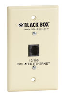 Wallplate Data Isolator - 10/100-Mbps, 4K