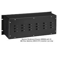 Rackmountable ABCDE DB9 Manual Switch, FFMFF