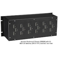 Rackmountable Manual Switches, Other, 6 per Standard, 3 per Mini, Female/Female/Male