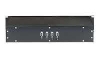 VGA & SVGA Switch - 3 to 1, (4) Female, Rackmount