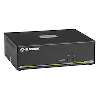 Secure KVM Switch, NIAP 3.0 Certified - Dual-Monitor, DVI-I, PS2, USB HID, Audio