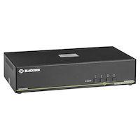 Secure NIAP 3.0 Dual-Head 4K DisplayPort USB KVM Switch with CAC