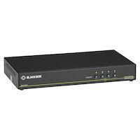 Secure KVM Switch, NIAP 3.0 Certified - Single-Monitor, DisplayPort 4K30, USB, Audio
