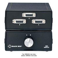 Desktop DB15 2 to 1 Ethernet Transceiver Manual Switch FFF