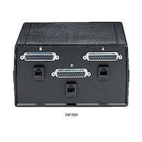 Dual DB25 DB25 2-to-1 Manual Switch - FFF IBM PC