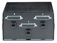 Dual DB25 DB25 2-to-1 Manual Switch - FFF All Leads