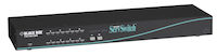Multiplatform Matrix KVM Switch for PC and Sun - (Slim Chassis Style) 2 Users x 8 CPUs