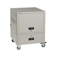 UD Series 10-Device Modular Charging Locker with Casters