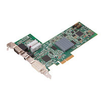 Video Wall Processor Capture Card - 1-Channel HD, 1-Channel SD, plus AM2, plus Cable, Full Height