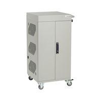 Basic Charging Cart - 30-Device, Hinged Door, Hasp Lock