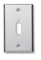 Wallplate - Stainless Steel, Single-Gang, DB15, 1-Port