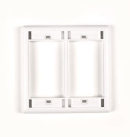 Modular Wallplate Double-Gang White