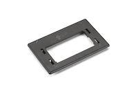 GigaStation2  Modular Furniture Reducing Plate for Herman Miller - Black
